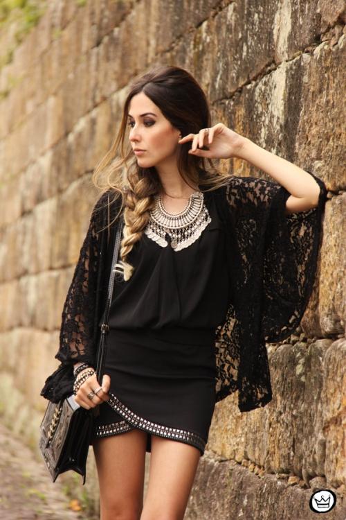 FashionCoolture - 29.09.2014 look du jour black Doce Trama (2)