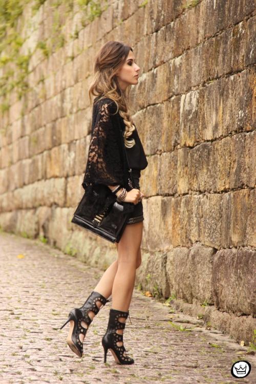 FashionCoolture - 29.09.2014 look du jour black Doce Trama (3)