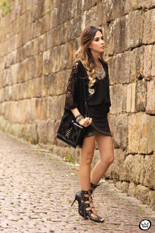 FashionCoolture - 29.09.2014 look du jour black Doce Trama (7)