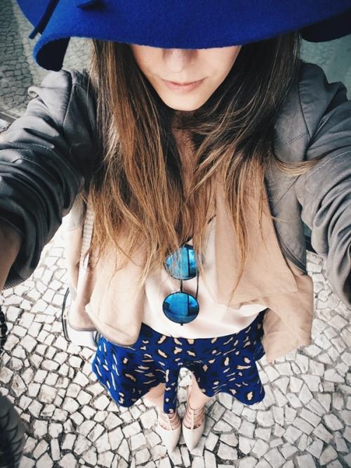 FashionCoolture INstagram blue