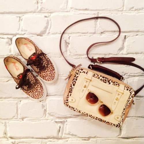 FashionCoolture Instagram leopard print