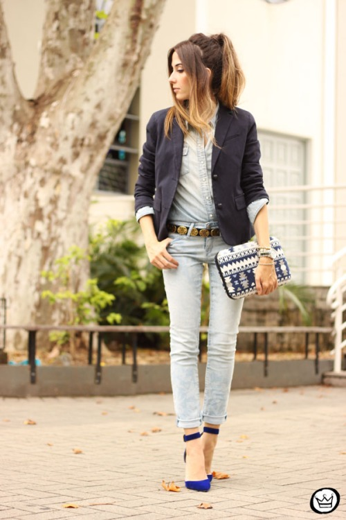 FashionCoolture - 19.02.2015 look du jour Gap denim (1)