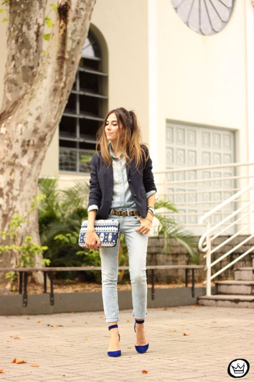 FashionCoolture - 19.02.2015 look du jour Gap denim (7)