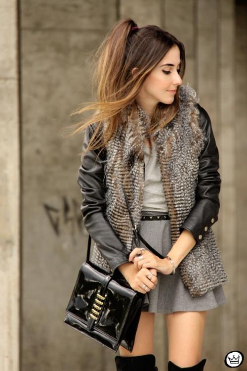 FashionCoolture - 24.02.2015 look du jour Displicent fake fur vest (3)
