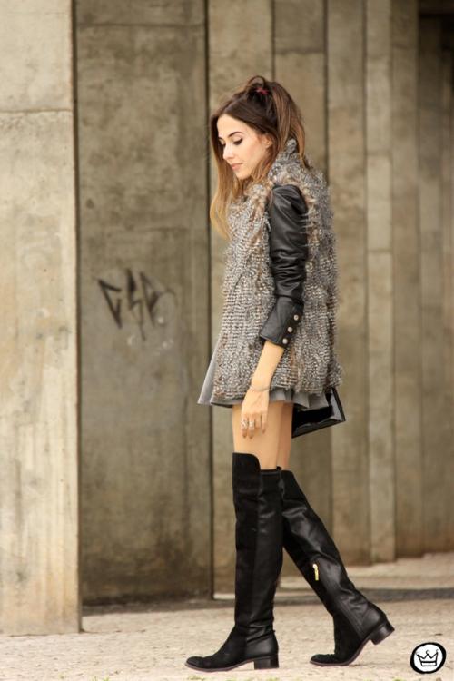 FashionCoolture - 24.02.2015 look du jour Displicent fake fur vest (4)