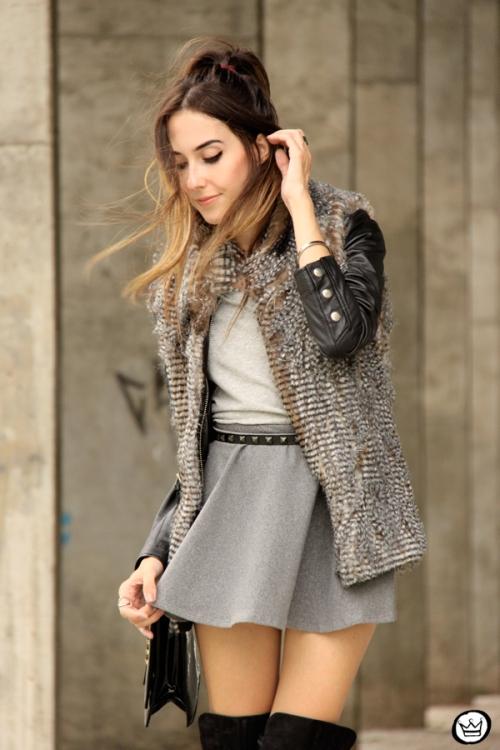 FashionCoolture - 24.02.2015 look du jour Displicent fake fur vest (5)