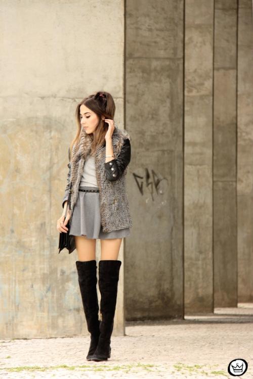 FashionCoolture - 24.02.2015 look du jour Displicent fake fur vest (6)