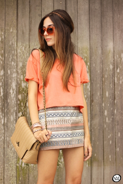 FashionCoolture - 26.02.2015 look du jour Dafiti coral top (2)