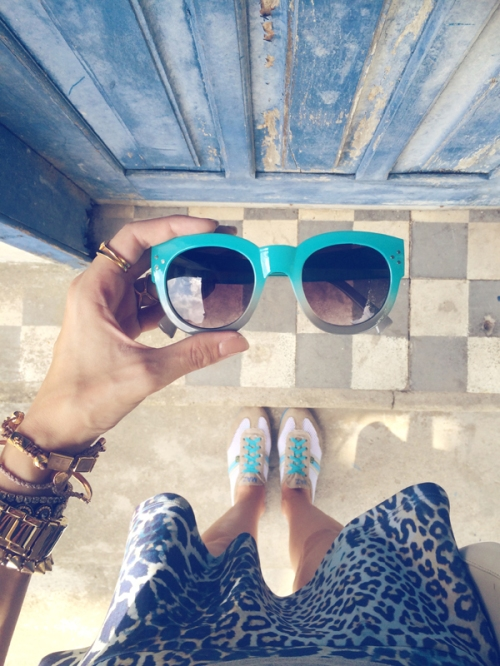 FashionCoolture - Instagram sunglasses