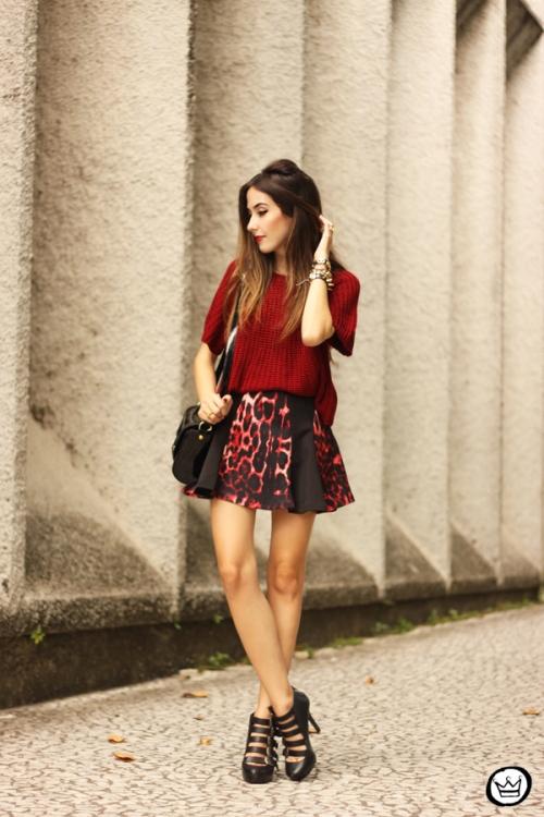 FashionCoolture - 17.03.2015 look du jour Moikana inverno animal print burgundy (7)