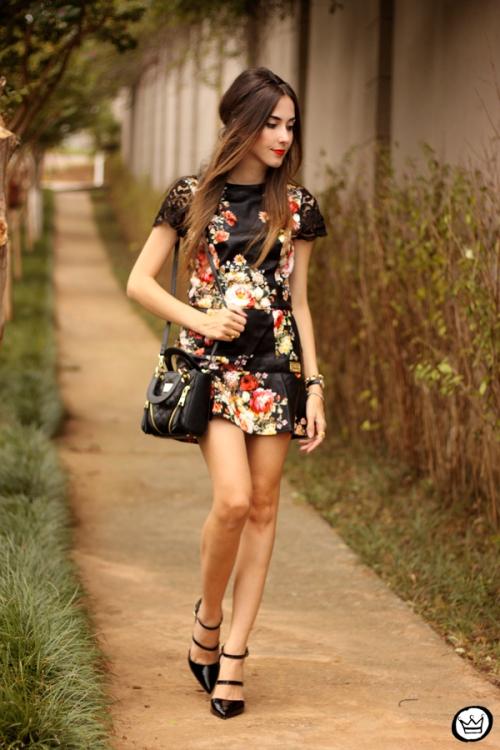 FashionCoolture - 23.03.2015 look du jour Moikana black floral (1)