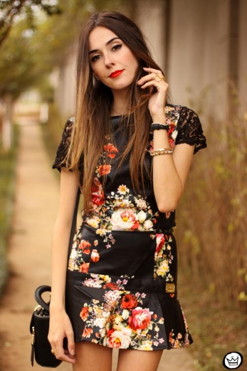 FashionCoolture - 23.03.2015 look du jour Moikana black floral (2)