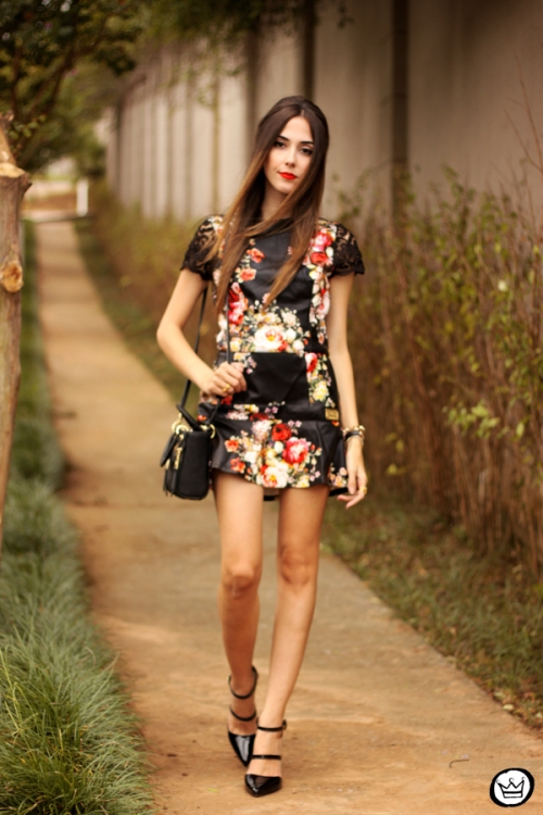 FashionCoolture - 23.03.2015 look du jour Moikana black floral (5)