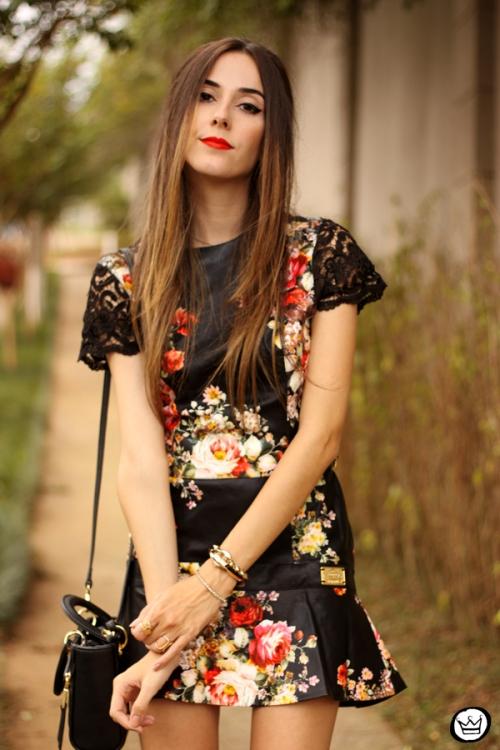 FashionCoolture - 23.03.2015 look du jour Moikana black floral (6)
