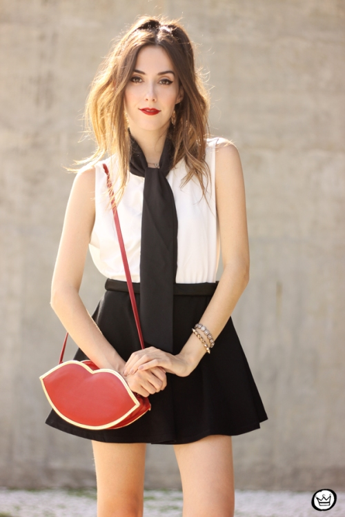 FashionCoolture - 26.03.2015 look du jour Dafiti black white preppy (6)