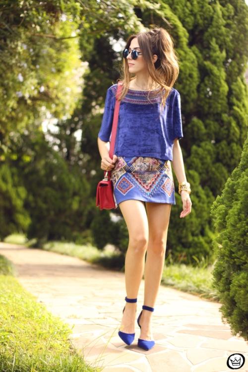 FashionCoolture - 27.03.2015 look du jour Lez a Lez blue (1)