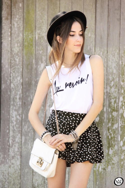 FashionCoolture - 12.04.2015 look du jour Black&White pearls and dots (5)