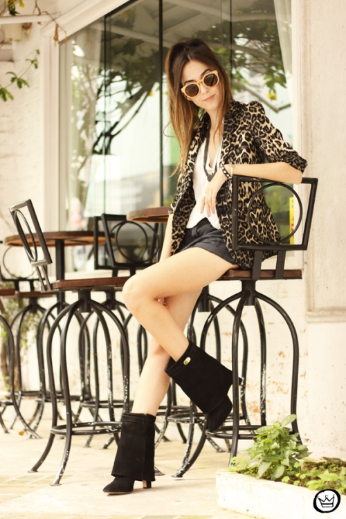 FashionCoolture - 13.04.2015 look du jour Shoulder leopard print blazer (3)