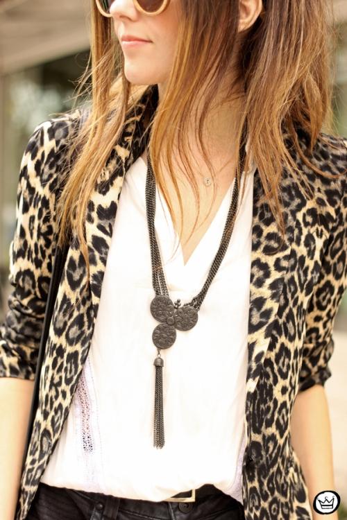 FashionCoolture - 13.04.2015 look du jour Shoulder leopard print blazer (4)