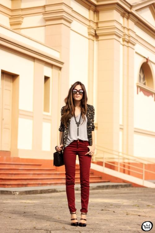 FashionCoolture - 18.04.2014 look du jour Spektre sunglasses Shoulder leopard print (1)