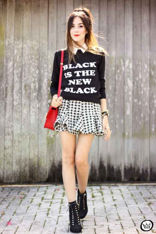 Look du jour: Black is the new Black