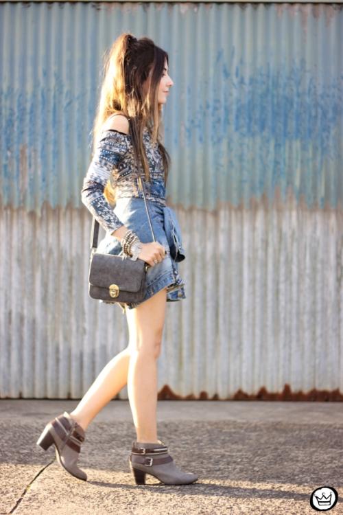 FashionCoolture - 27.04.2015 look du jour Triton vestido étnico jaqueta jeans (3)