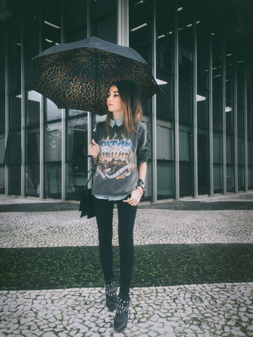 FashionCoolture rainy day Instagram (1)
