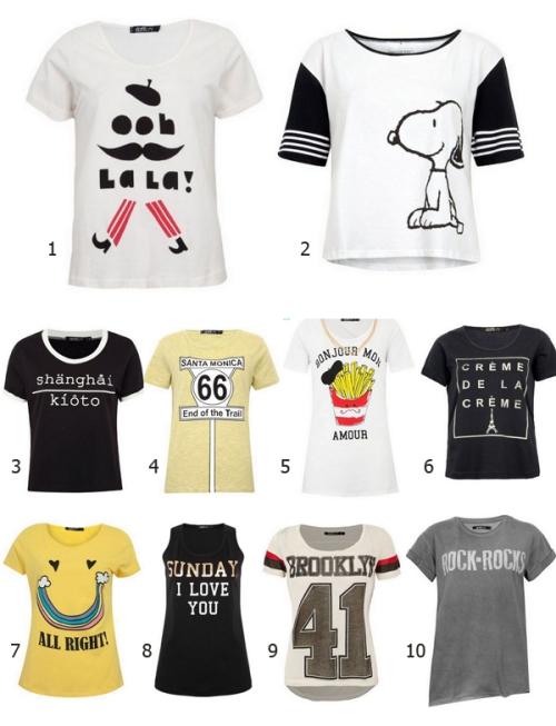 Shopping Tips t-shirt Dafiti