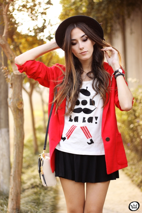 FashionCoolture - 06.05.2015 look du jour Dafiti red blazer (2)