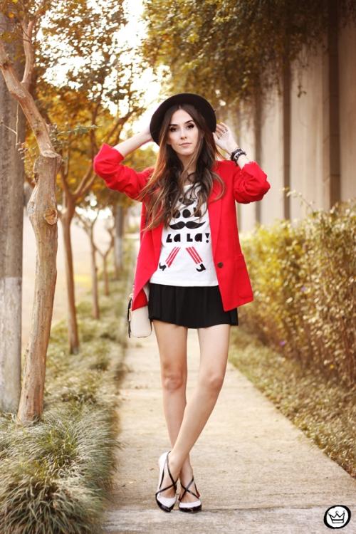 FashionCoolture - 06.05.2015 look du jour Dafiti red blazer (4)