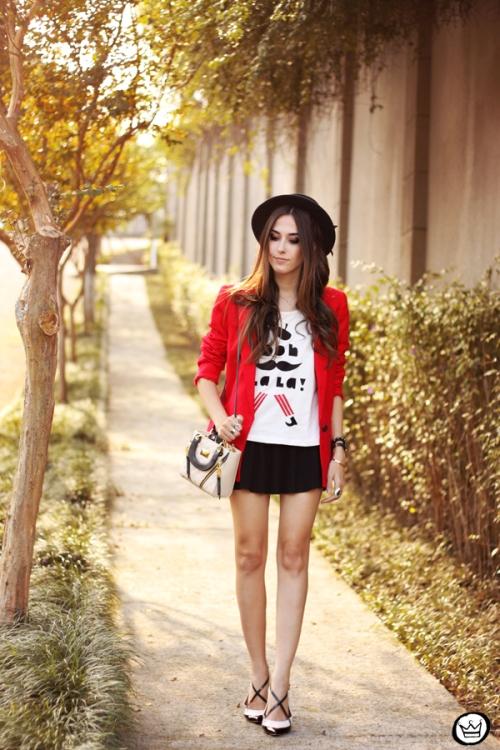FashionCoolture - 06.05.2015 look du jour Dafiti red blazer (6)
