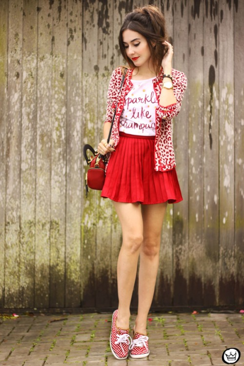 FashionCoolture - 12.05.2015 lok du jour Dafiti red Keds polka dots (7)