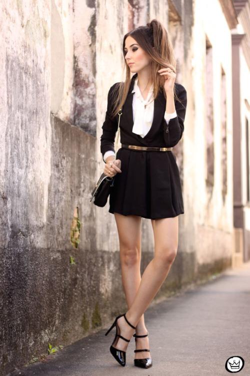 FashionCoolture - 15.05.2015 look du jour Black Shoulder macaquinho (1)