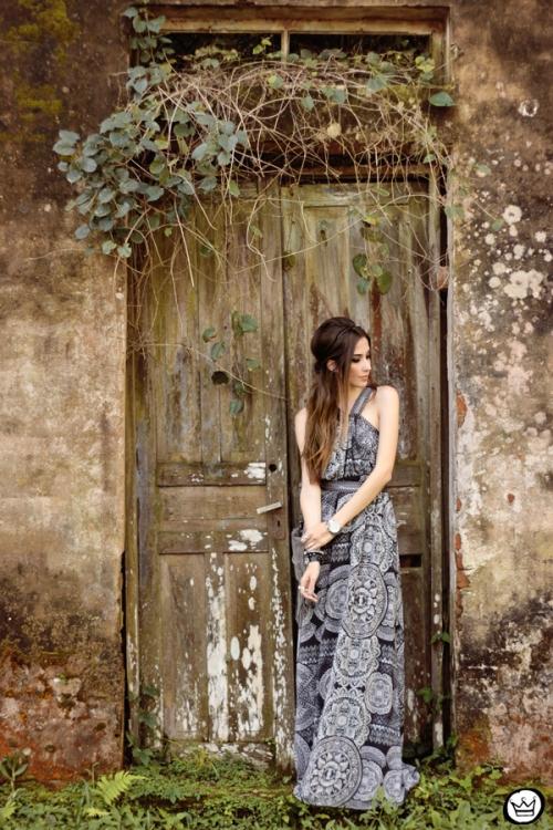 FashionCoolture - 18.05.2015 look du jour Lez a Lez long dress print (1)