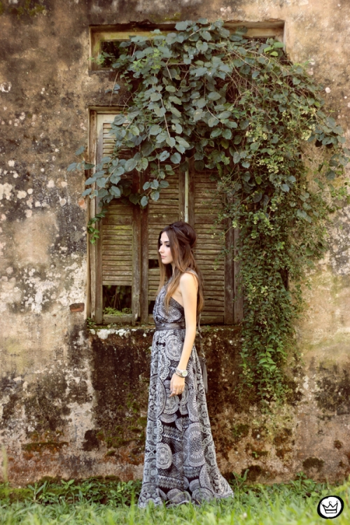 FashionCoolture - 18.05.2015 look du jour Lez a Lez long dress print (3)
