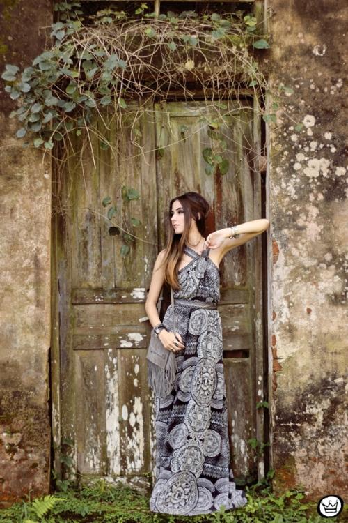 FashionCoolture - 18.05.2015 look du jour Lez a Lez long dress print (6)