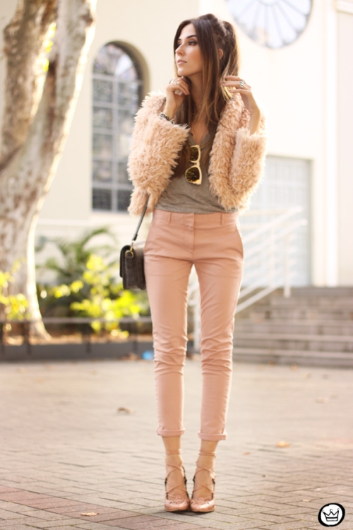 FashionCoolture - look du jour 05.05.2015 Gap pale pink khaki pants (7)